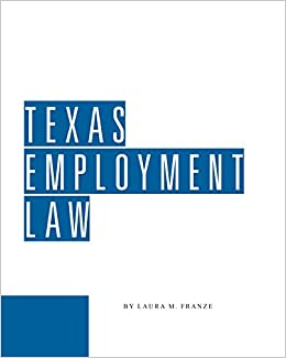 Book Texas Employment Law
