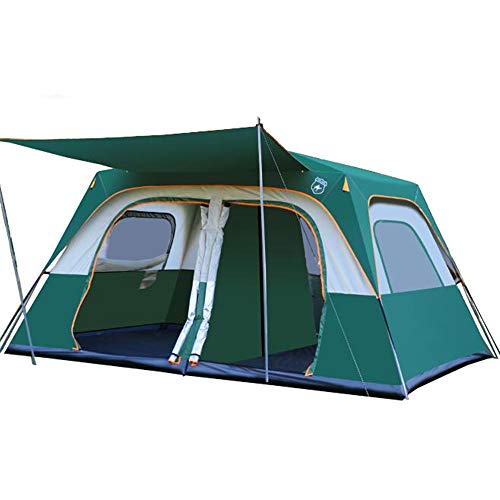 Camping Tent 8-9 Person Suitable Camping Traveling Family Outdoor Activities Tent with Advanced Ventilation Camping…