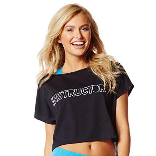 ZUmba Fitness Rock With Me Boxy Instructor Top (XX-Large)