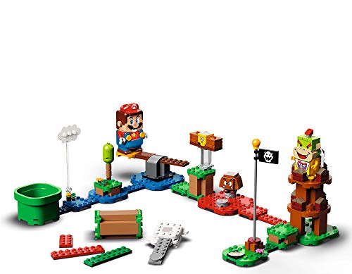 LEGO Super Mario Adventures with Mario Starter Course 71360 Building Kit, Creative Gift Toy for Kids, Interactive Set Featuring Mario, Bowser Jr. and Goomba Figures, New 2020 (231 Pieces)