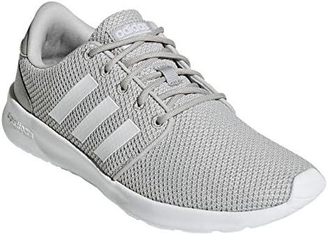 Adidas Cloudfoam QT Racer Shoes for Unisex Grey,38 23
