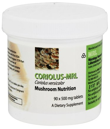 (Mycology Research Labs - Coriolus-MRL - 90 Tablets )
