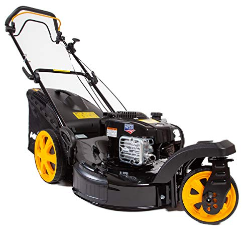 MOWOX MNA152614 Zero-Turn Radius Self-Propelled Lawn Mower powered by Briggs & Stratton 163cc OHV 675EXI Series Engine