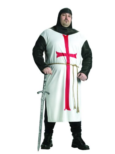Adult Plus Templar Knight Costume