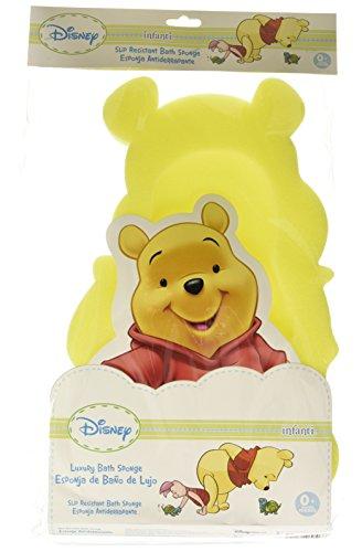 Disney Baby Oso Pooh Esponja para Baño, amarillo