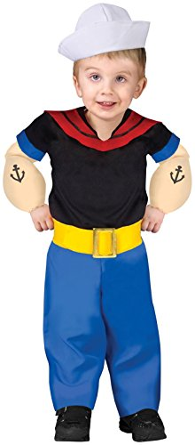 Popeye Costume - Toddler -