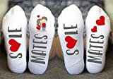 Product review for Personalized Socks For Anniversary Sole Mates Funny Gift