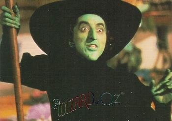 Wicked Witch of the West (Margaret Hamilton) trading card (The Wizard of Oz) 1996 DuoCards #11
