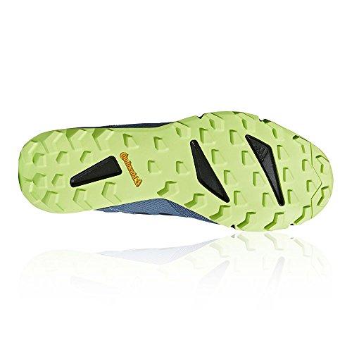 adidas Terrex Agravic Speed, Scarpe da Trail Running Uomo Grigio (Grau Rawste/Cblack/Sslime)