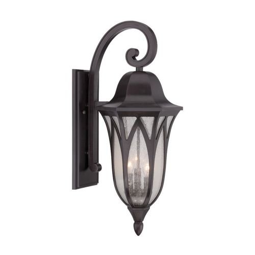 Acclaim 39822ORB Milano Collection 3-Light Outdoor Light Fixture Wall Lantern, Oil Rubbed Bronze