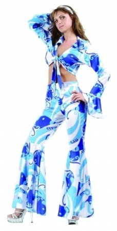 Disco Inferno Costumes (70's Disco Fever Adult Costume By RG X-Large (12-14))