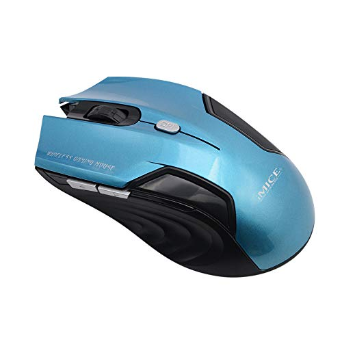 Buttons Wireless Mouse,EDTO Comfortable Shape Mice with USB Receiver, with Back/Forward Buttons and Side-to-Side Scrolling Optical Mobile Ergonomic