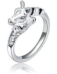 Women Ring Simple Alloy Giraffe Rings