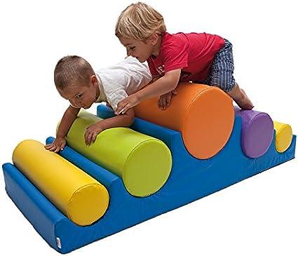 kidunivers – Montaña de cilindros de espuma para niños de 18 meses a 3 años): Amazon.es: Bebé