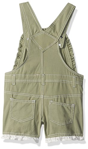 Nannette Toddler Girls' 2 Piece Shortall and Tee Set, Green, 3T by Nannette (Image #2)