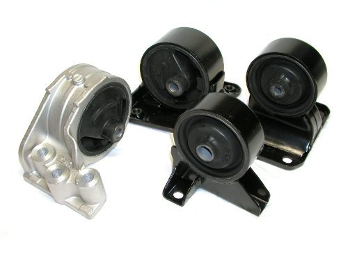 3SX Engine Motor Mounts Rubber Core OEM-Replacement 3000GT - SET OF 4 - 3000gt Replacement