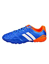 SK Studio Men's Sport Light Weight Indoor Outdoor Lace Up Soccer Shoes AG TF