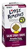 Little Remedies Saline Spray and Drops | Safe for