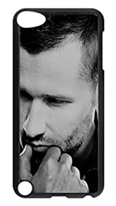 iPod 5 Cases, Hot Sale Personalized Kaskade Dj Portrait Fun Protective Hard PC Plastic Black Edge Case Cover for Apple iPod Touch 5 5th Generation