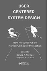 User Centered System Design: New Perspectives on Human-computer Interaction Hardcover