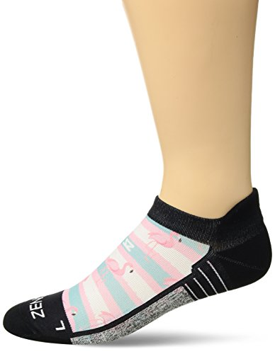 Zensah Limited Edition No-Show Running Socks - Anti-Blister Comfortable Moisture Wicking Sport Socks for Men and Women