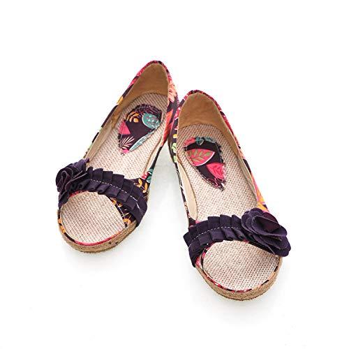 Chaussures Taille Eu 37 Vert couleur Violet Qiusa raSqwZUPr