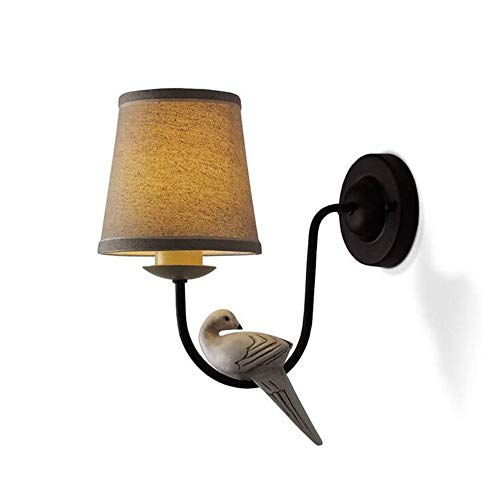 Lustre Vintage Applique Murale Vintage Continental Lampe De Chambre à Coucher Enfant Chambre Single Lampe De Chevet