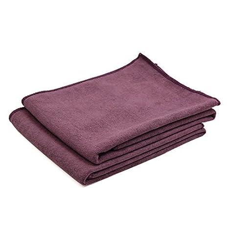 DealMux 2pcs 60cm x 30cm suave microfibra Inicio Alquiler de toallas Detallando paño de limpieza púrpura: Amazon.es: Coche y moto