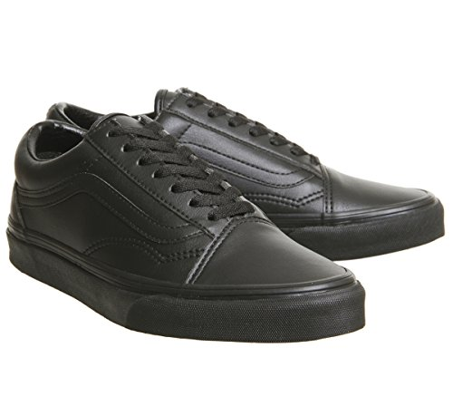 Black Vans Classic Mono Black Old Adult Trainers Skool UA Tumble qrwXIzXt6