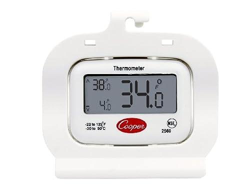Amazon.com: Termómetro de freezer digital Cooper ...