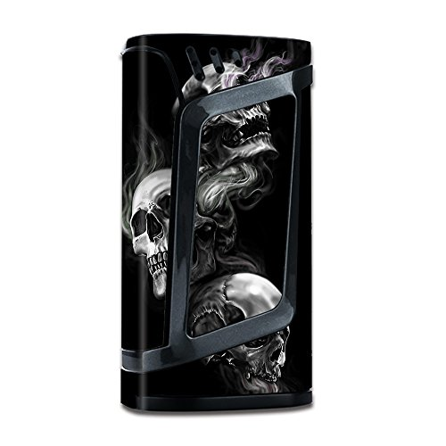 Skin Vinyl Decal for Smok Alien 220W TC Vape Mod / with Grip-Guard Technology stickers skins cover/ glowing Skulls in - Matte Textured 89
