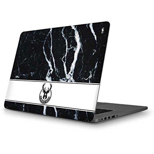 Skinit NBA Milwaukee Bucks MacBook Pro 13 (2013-15 Retina Display) Skin - Milwaukee Bucks Marble Design - Ultra Thin, Lightweight Vinyl Decal Protection by Skinit