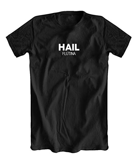 Hail Flutina T-Shirt, Black, X-Large for sale  Delivered anywhere in USA