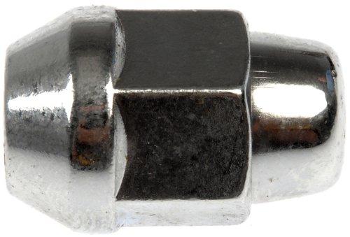 Dorman 611-153-BP Bulge Seat Acorn Wheel Nut - 1/2-20, 13/16 In. Hex, 1.385 In. Length, Pack of 200 ()