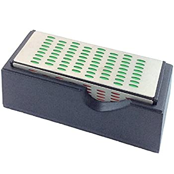 Knife Sharpener Sharpening Stone Kitchen 4 Sided Diamond Hone System Sharpen Steel Whetstone New