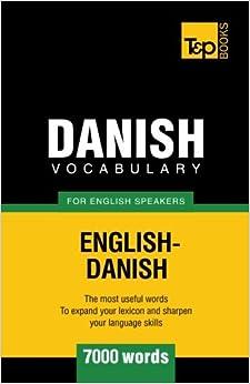 Danish vocabulary for English speakers - 7000 words