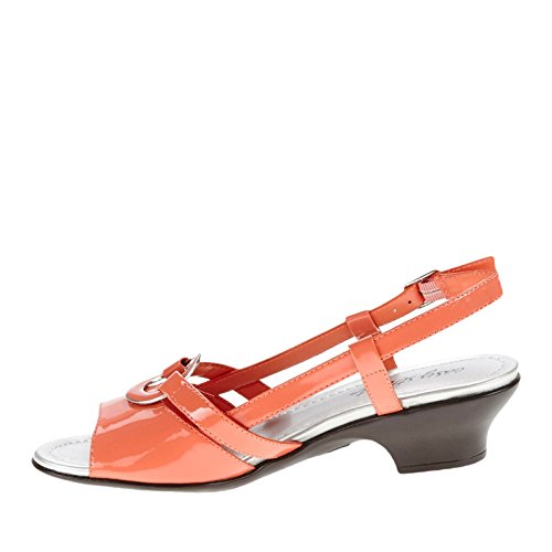 Easy Street Tempe Femmes US 6.5 Orange Large Sandales