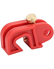 Circuit Breaker Lockout Lockhole Reinforced Nylon High Temperature Resistant Tool Free 0.4in