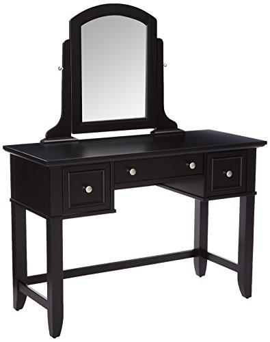 Bedford Black Vanity Table by Home Styles