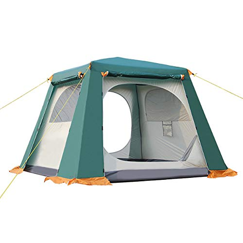 Free boat camel Tent Outdoor Camping 3-4-6 People Camping Tent Multi-Person Automatic Tent