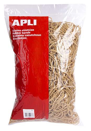 APLI 12867 - Pack de 3000 gomas elasticas, 160 x 3 mm