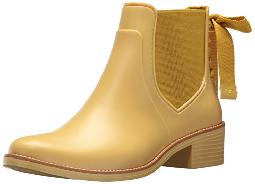 Bernardo Women's Paige Rain Boot, Misted Yellow Rubber, 9M M US