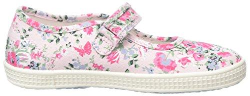 Start Rite Mädchen Posy Espadrilles Pink (Pink Floral)