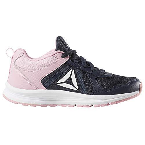 Reebok Almotio 4.0, Zapatillas de Trail Running para Mujer, Multicolor (Collegiate Navy/Light Pink 000), 36 EU