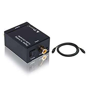 Portta petdta Digital Coax Coaxial Optical Toslink a Analog Audio Convertidor Converter Digital a analógico Digital