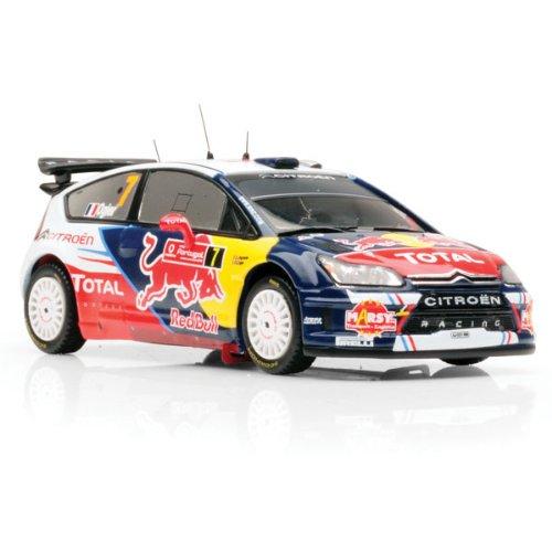 1/43 シエトロンC4 WRC ボーダフォン 2010年ポルトガルラリー優勝 #7 ドライバー:S.Ogier/J.Ingrassia 「モダンラリーカーシリーズ」 RAM430