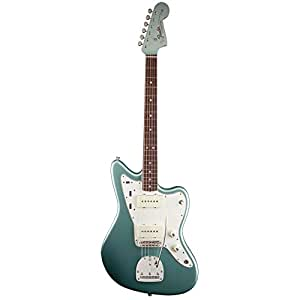 Fender Limited Edition American Vintage 65 Jazzmaster Firemist Silver 6-string Electric Guitar w/ Case