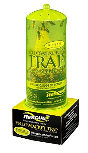 RESCUE! YJTR Non-Toxic Reusable Trap for Yellowjackets