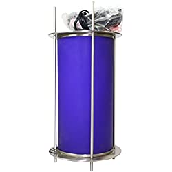 George Kovacs Minka P006-084 Brushed Nickel & Blue Pendant Light Fixture