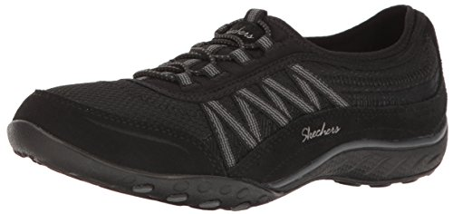 Sport Sneaker Breathe Women's Easy Point Taken Black Skechers vnwdqTHv